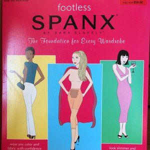 NWT SPANX super control footless tights (Sz A)